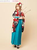 JAPAN STYLE & 中村里砂 卒業袴写真